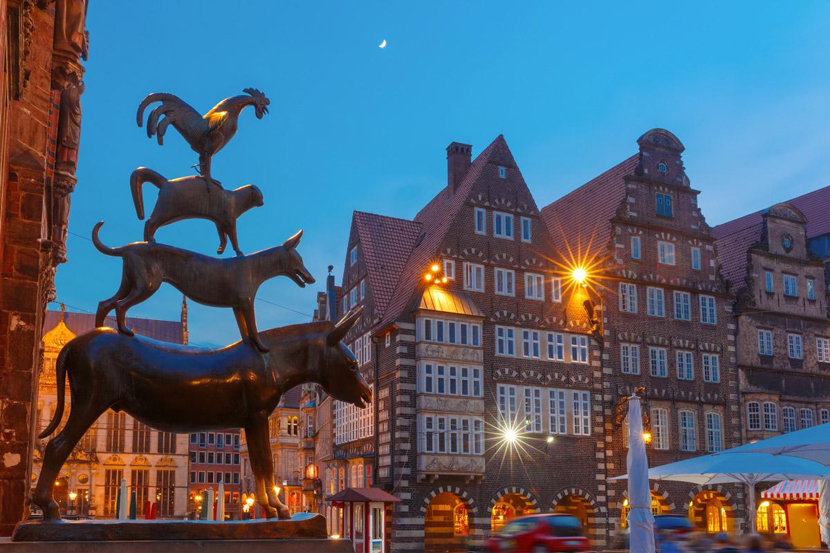 Adventsreise Bremen 2018 Stadtmusikanten