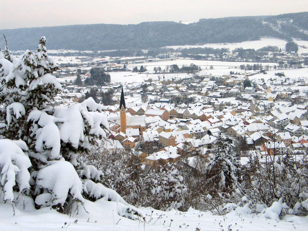 Dietfurt im Winter