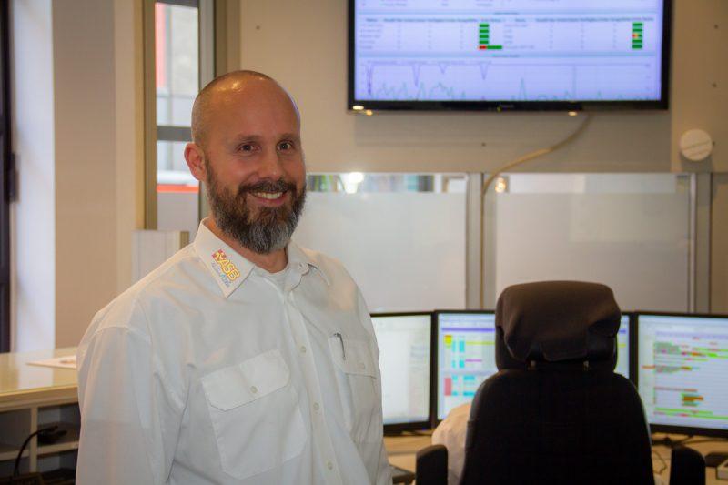 Neuer Fachbereichsleiter der Not- und Servicerufzentrale - Eberhard Steinhäuser