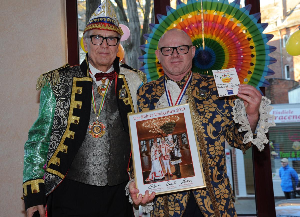 Siggi Schaarschmidt und Thomas Peters
