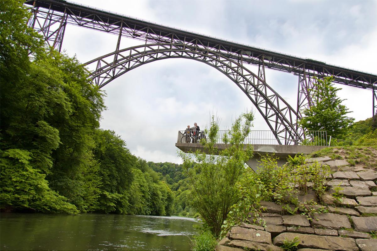Müngstener Brücke - Tagesfahrt Bergisches Land