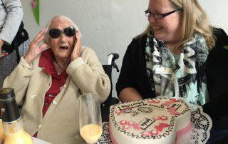 Gerda Schulz feiert 105. Geburtstag