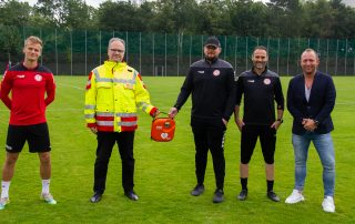 AED an Fortuna Köln übergeben